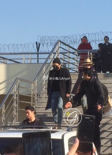 Big Bang - Harbin Airport - 21mar2015 - 小鬼儿Angel - 08