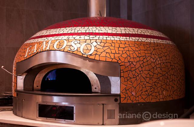Famoso Pizzeria oven
