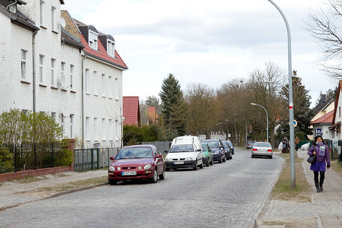 Sachsenhausen, at the end of the street