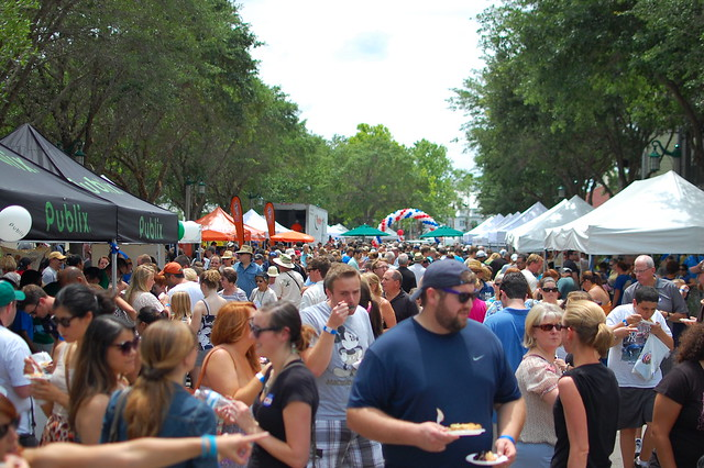 Great American Pie Festival 2012 in Celebration, Florida.