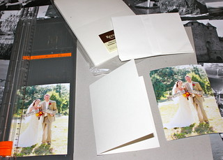 Gather cards and photos