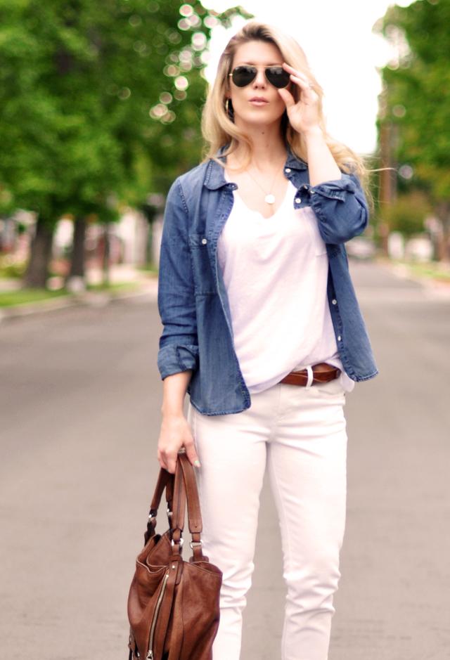 madewell jeans - aviators