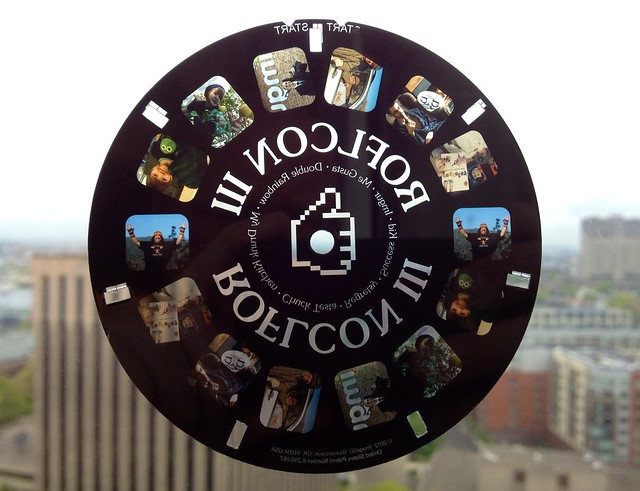 The wonderful ROFLCon III 3D Viewmaster reel