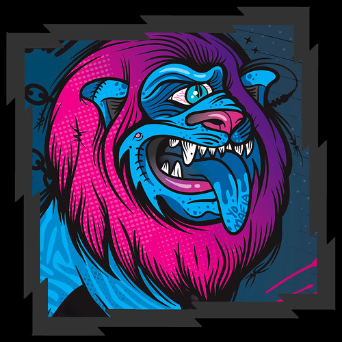Major Lazer - Zion Lion Head Detail
