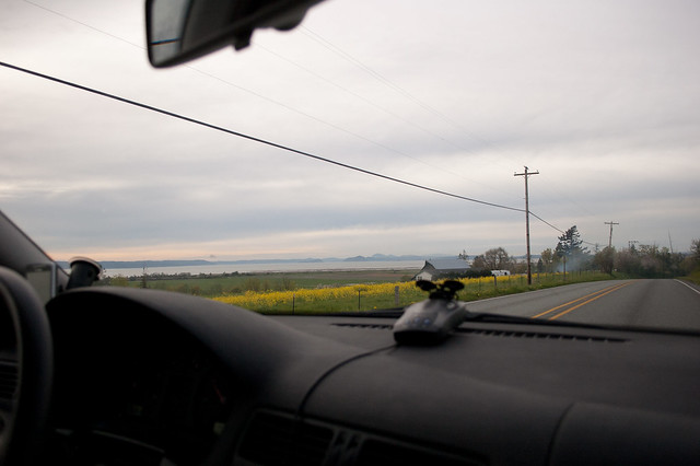 On the road to the Skagit Valley