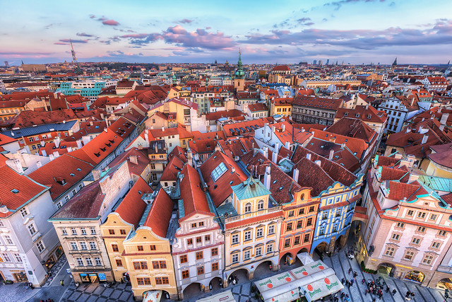 The colorful Prague