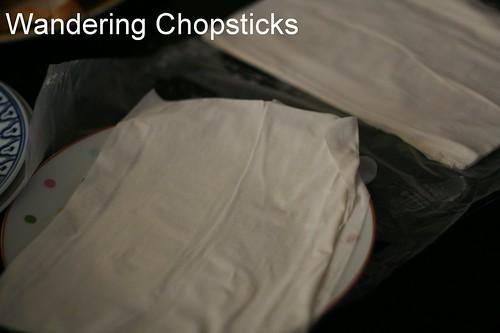 Mushroom Cream Cheese Phyllo Bundles 7