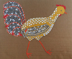 Chicken Collage Day 23 (June 5, 2012) by randubnick