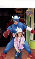 Orlando June 2002 With My Daughter Chloe