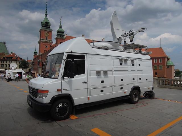 TRT (Turkey) OB Van