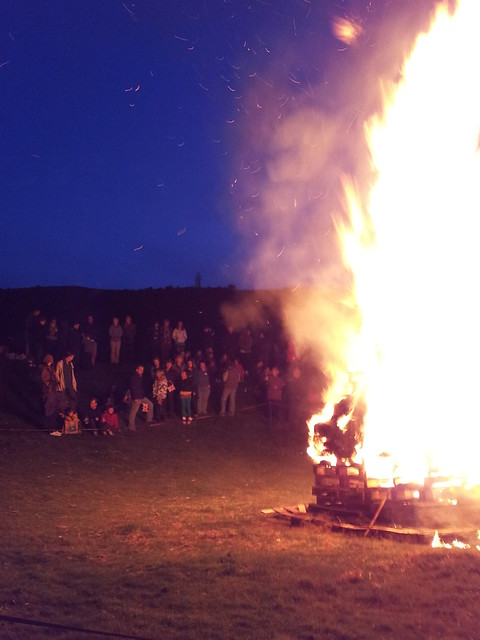 Caergwrle Castle Diamond Jubilee Beacon