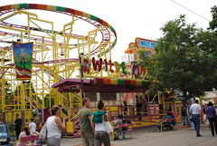 water park(0.0), carousel(0.0), park(0.0), recreation(1.0), outdoor recreation(1.0), leisure(1.0), fair(1.0), playground(1.0), amusement ride(1.0), amusement park(1.0),