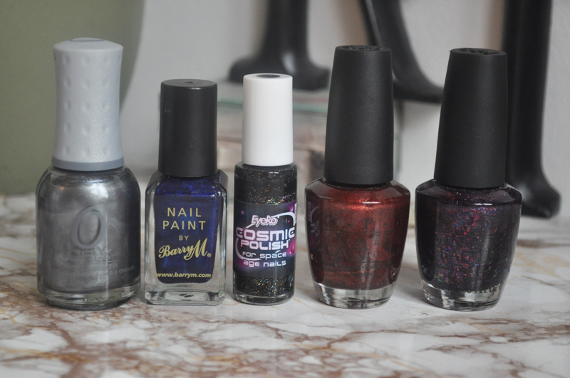 top 5 dark nail polishes opi orly eyeko