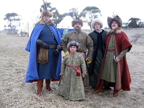 Chris, Quarf, Benjamin, Vic and Andy