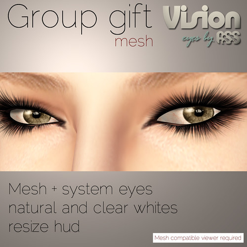 Mesh eye VIP group gift - Vision by A:S:S