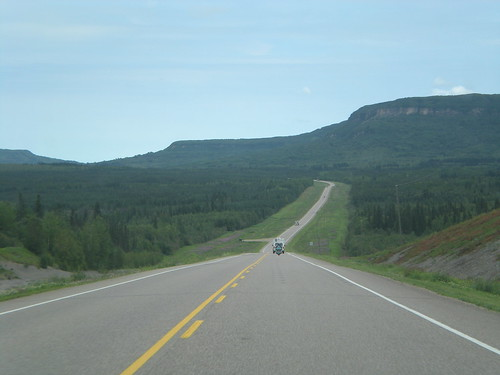 Down the road in central Canada