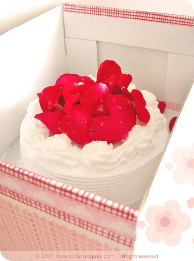 Strawberry Rose Shortcake