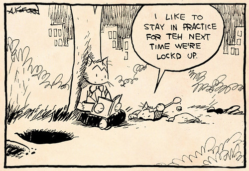 Laugh-Out-Loud Cats #1971 by Ape Lad