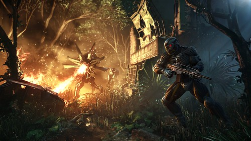 Crysis 3 screen 3 - Prophet under fire