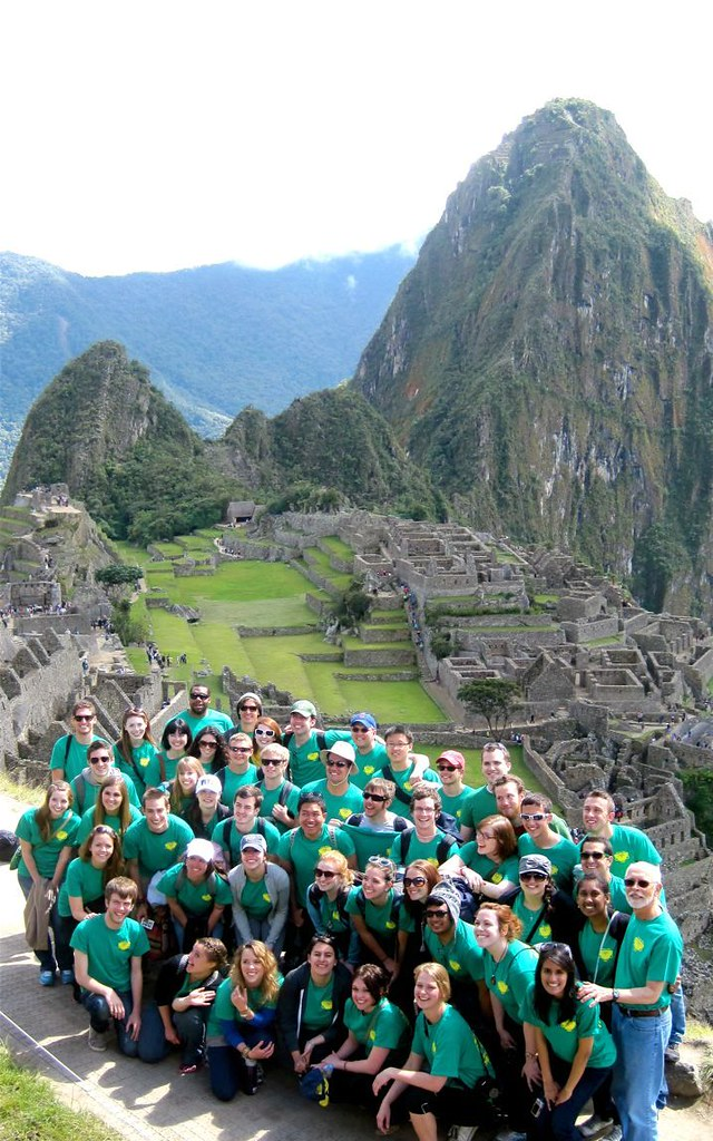Heinz Chapel Choir at Machu Picchu in Peru