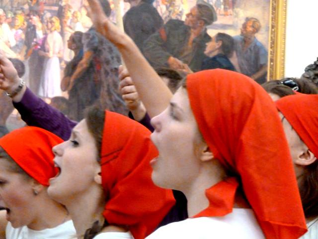 Минск Ночь музеев 2012  Апокалипсис отменяется 3