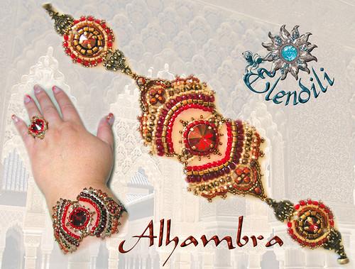 Brazalete Alhambra by **Elendili**