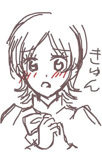 120526(2) - 聲優「恒松あゆみ」心血來潮畫出《Fate/Zero》所有角色的塗鴉、只有「久宇舞弥」發揮100%實力(笑) (12/18)