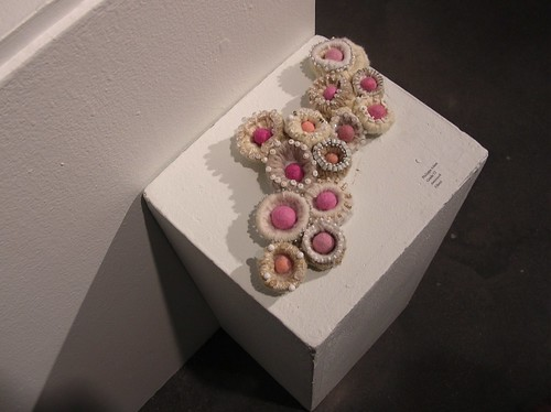 Pippa's Nests and Felted Eggs