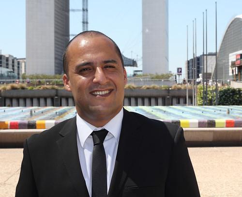 Karim Yahiaoui, candidat Modem, législative 2012 1ère circo des Hauts-de-Seine