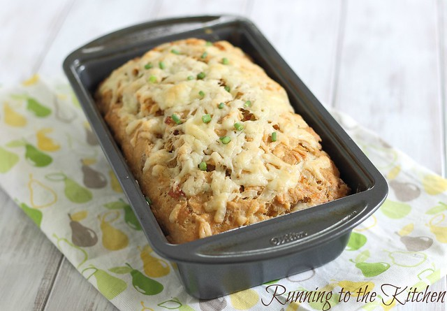 Loaded cheddar bacon bread