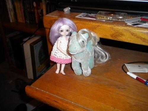 Posy and her pony