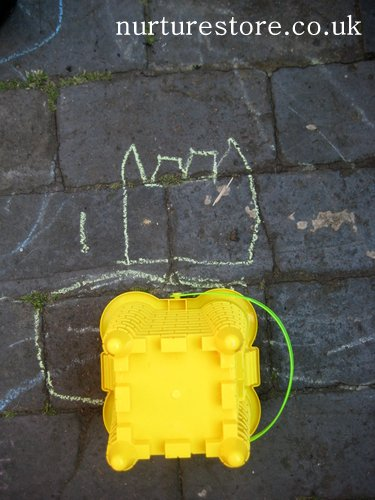 kids gardening activities chalk