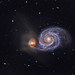 M51, the Whirlpool Galaxy by write_adam