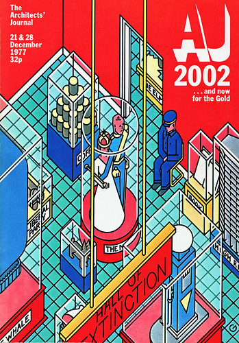 Architects Journal silver jubilee cover