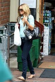 Lauren Conrad Denim Shirt Celebrity Style Woman's Fashion