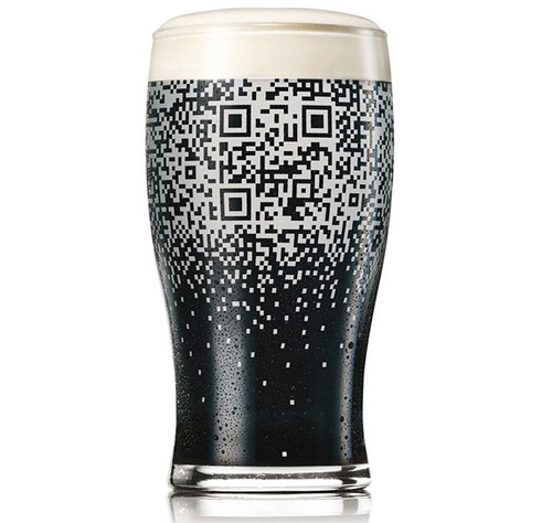 Guinness QR cup