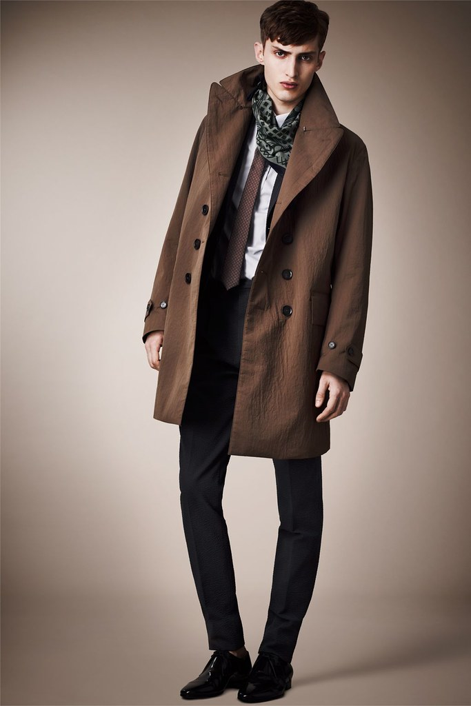 Charlie France0261_Burberry Prorsum's Pre-​​Spring 2013 Collection(Homme Model)