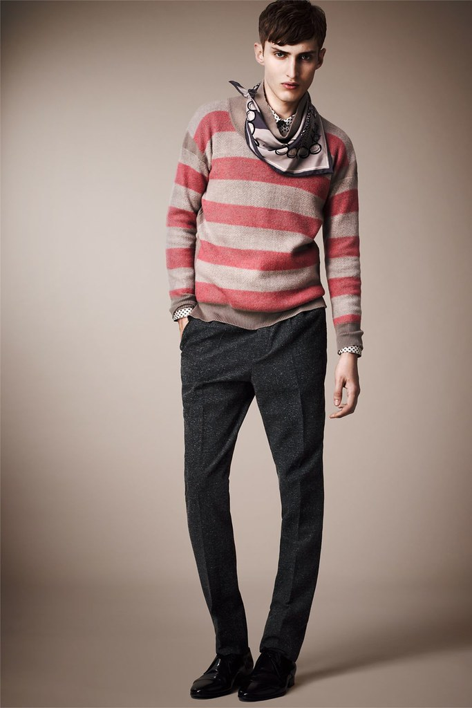 Charlie France0272_Burberry Prorsum's Pre-​​Spring 2013 Collection(Homme Model)