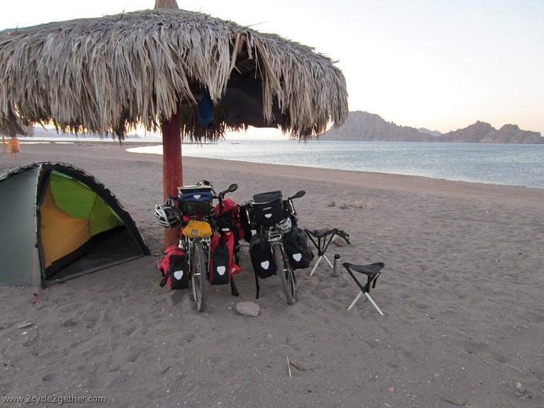Ligui, Beach Campsite