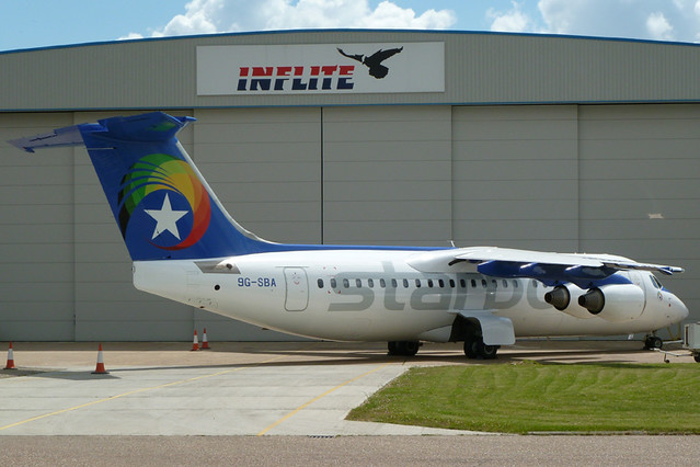 Starbow Airlines Bae146 [Click to enlarge]
