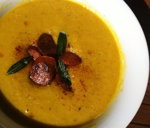 Chickpea Soup with Chorizo & Sage by mjd-s