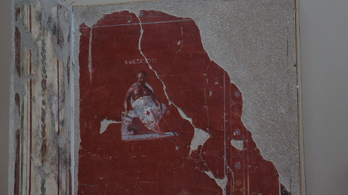 Socrates wall painting from Terrace Houses - Ephesus Archaeological Museum