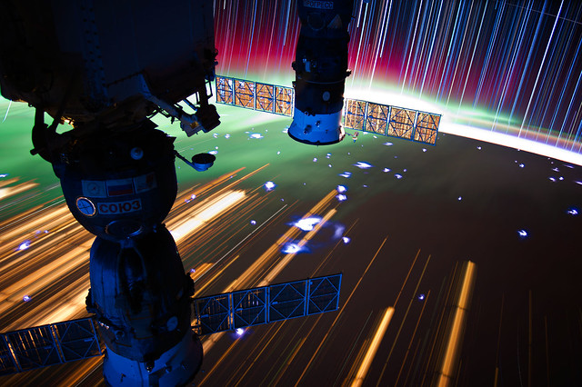 ISS Star Trails by NASA_JSC_Photo, on Flickr