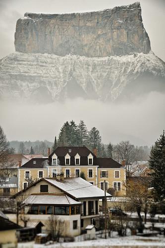 Mont Aiguille et Chichilianne by erwannf