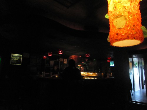 Dimly Lit Bar