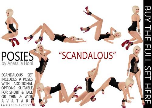 POSIES - 21 Scandalous Ad by Anatalia Honi(POSIES)