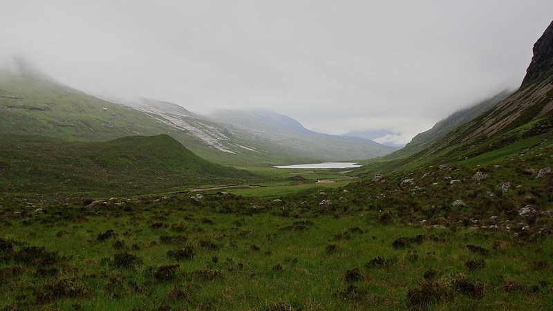 Loch an Nid from the south