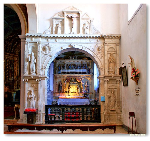 Capela lateral da Igreja Paroquial do Espinhal by VRfoto