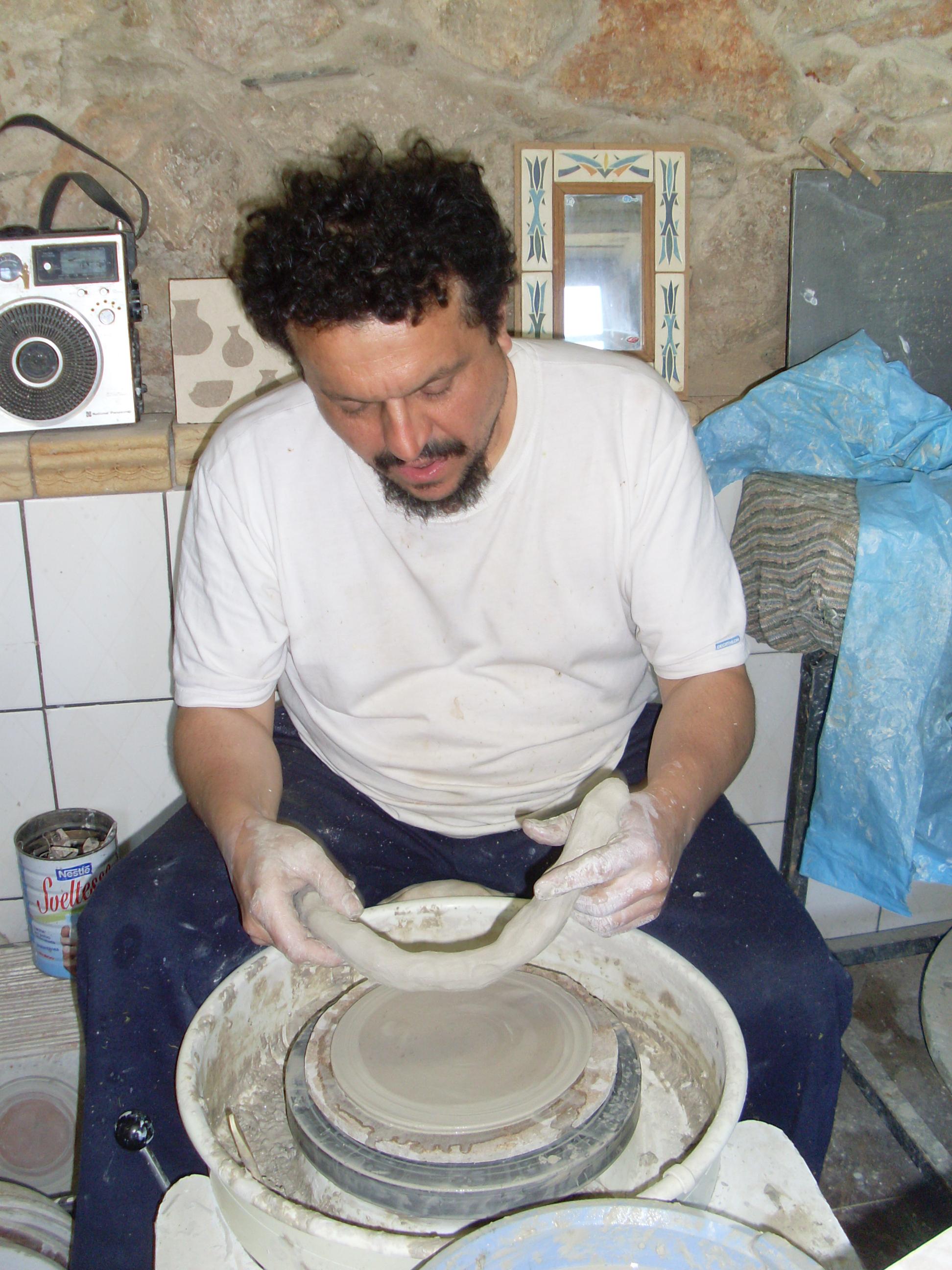 platos realizados en torno