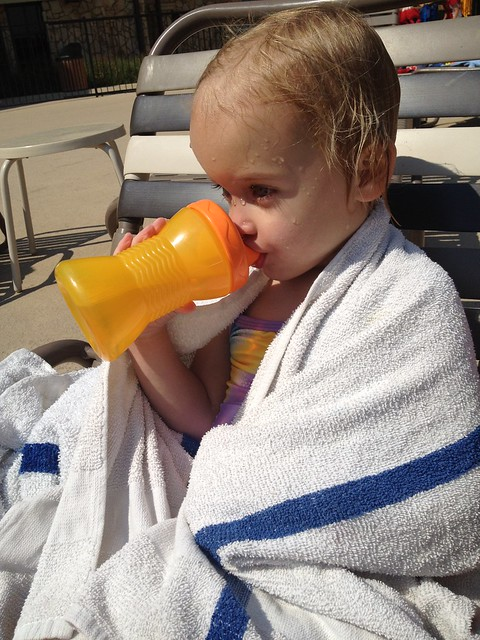 kinley drinking juice